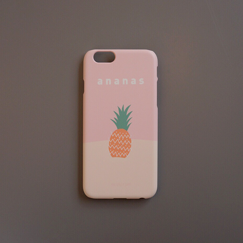[Phone case] Nature illust _ ananas