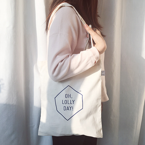 [Bag] O,LD! logo cotton bag