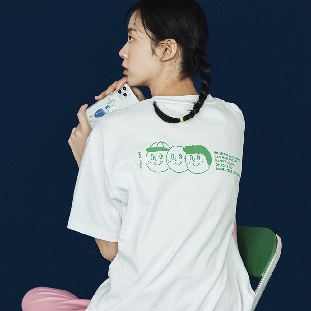[Apparel] O,LD! T-shirts_Signature_White