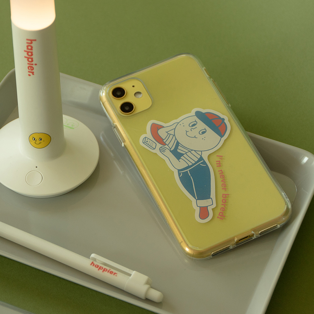 [Phone case] Never bored