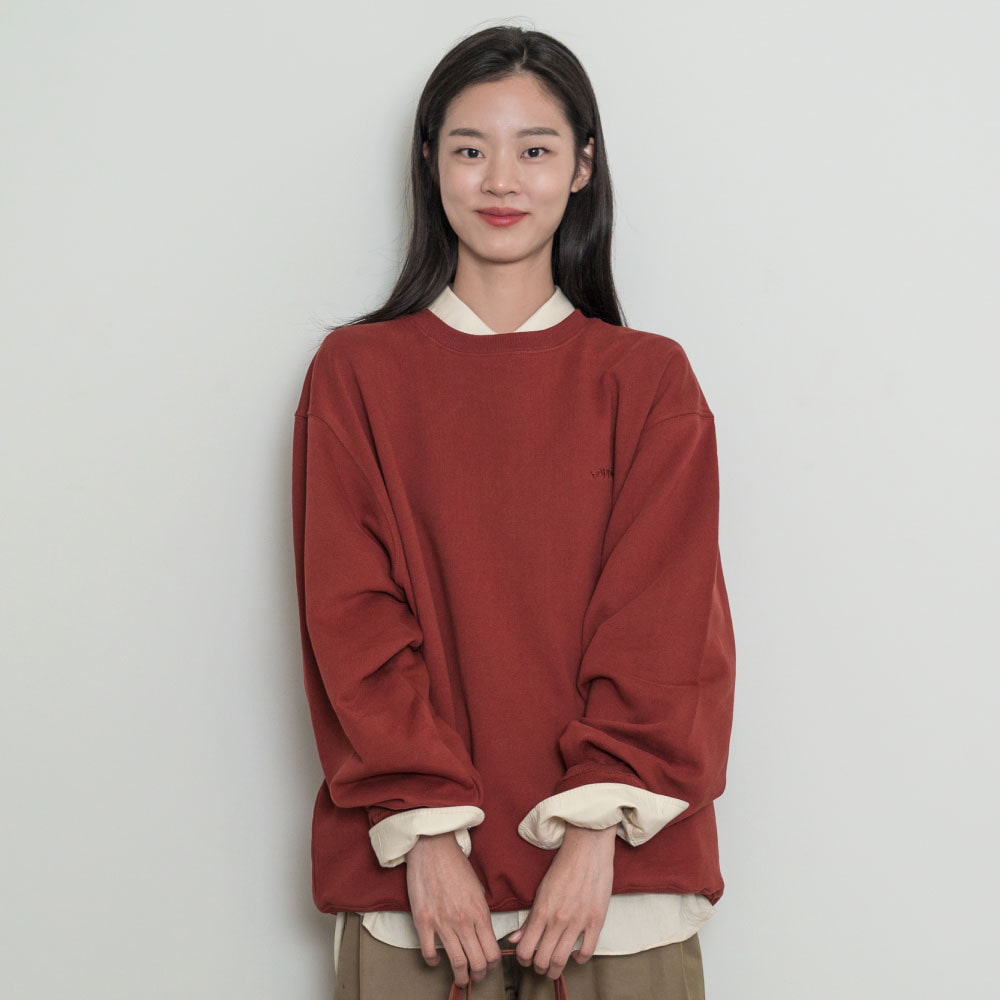 [Apparel] O,LD! Sweatshirt_Signature_Brick