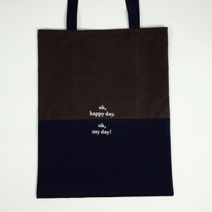 [Bag] oh, happy day. oh, my day! _ brown&navy
