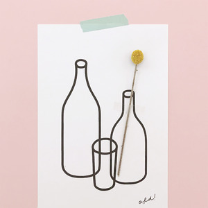 [Poster] Mini size_empty bottle