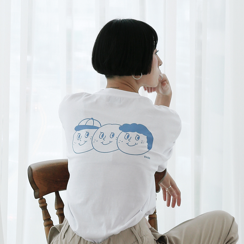 [Apparel] O,LD! 3 brothers T _ Sky blue