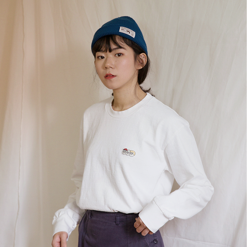 [Apparel] O,LD! long sleeves_white