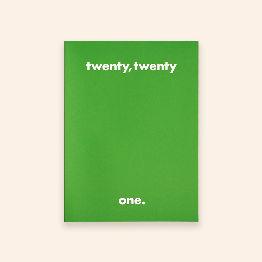 [프리오더][Diary] twenty,twenty one._2021_big_summer green
