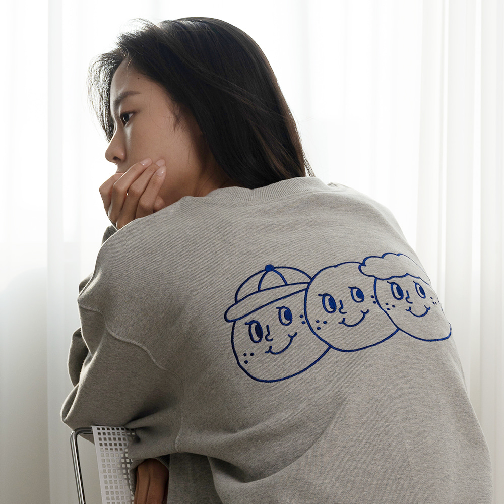 [Apparel] O,LD! Sweatshirt_Signature_Grey